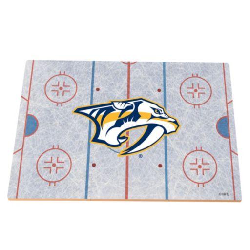 Nashville Predators Replica Hockey Rink Foam Puzzle Floor