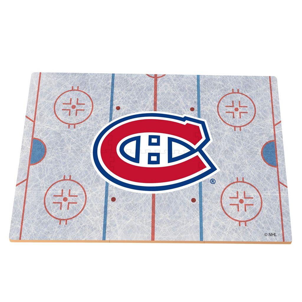 Montreal Canadiens Replica Hockey Rink Foam Puzzle Floor