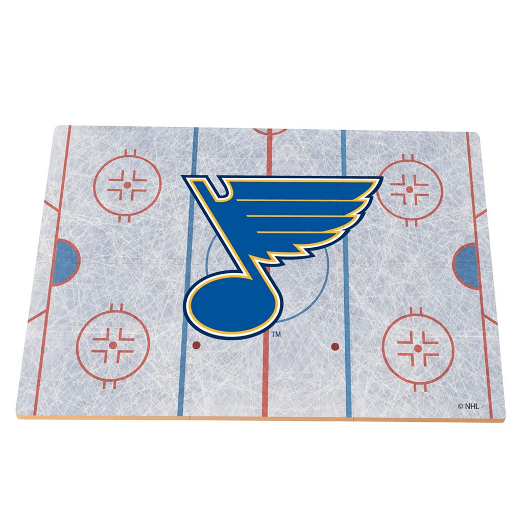 St. Louis Blues Replica Hockey Rink Foam Puzzle Floor
