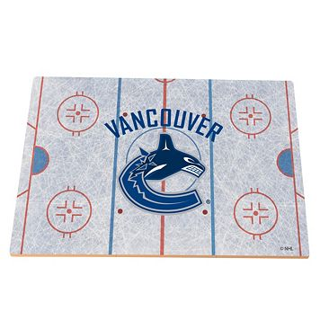 Vancouver Canucks Replica Hockey Rink Foam Puzzle Floor