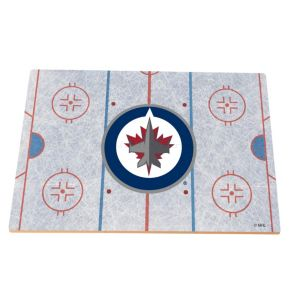 Winnipeg Jets Replica Hockey Rink Foam Puzzle Floor