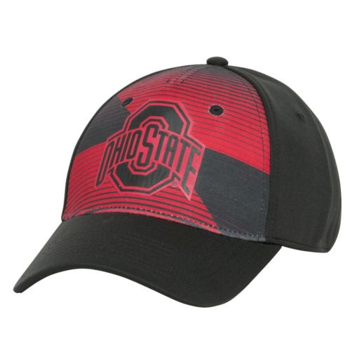 Men's Ohio State Buckeyes Magma Burst Sublimated Flex Fitted Cap