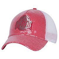 Women's Ohio State Buckeyes Mesh Snapback Cap