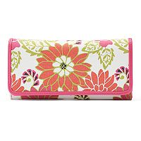 Croft & Barrow® File Master RFID-Blocking Floral Clutch