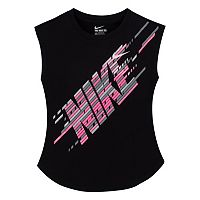 Girls 4-6x Nike Linear Logo Graphic Tee