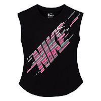 Girls 4-6x Nike Linear Logo Graphic Tee