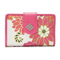 Croft & Barrow® Abbey Indexer RFID-Blocking Floral Medallion Wallet