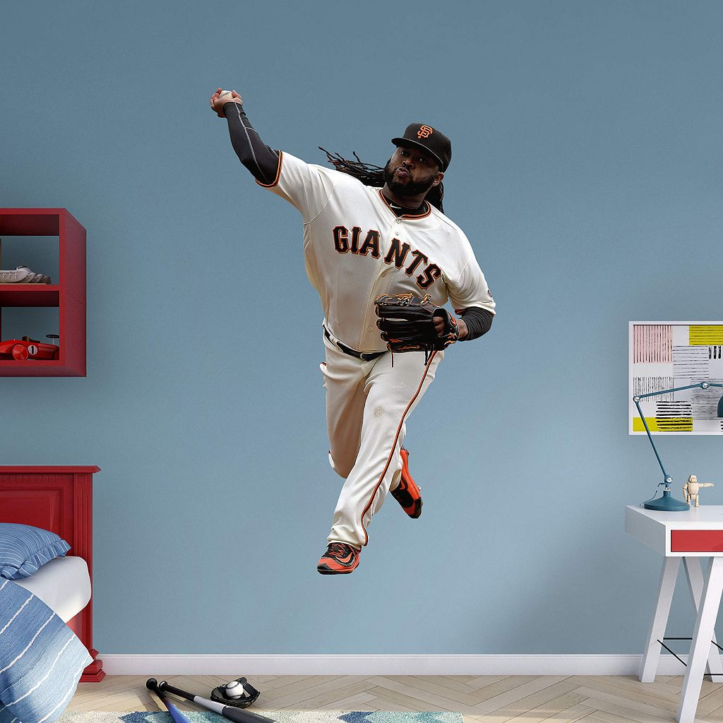 San Francisco Giants Johnny Cueto Wall Decal by Fathead