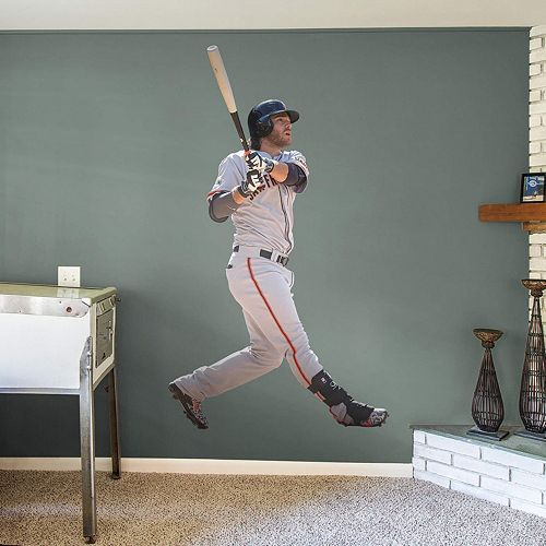San Francisco Giants Brandon Crawford Wall Decal by Fathead
