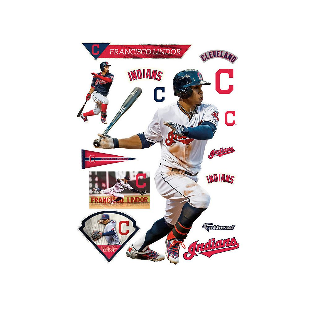 Cleveland Indians Francisco Lindor Wall Decal by Fathead