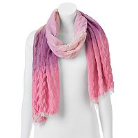 Manhattan Accessories Co. Crinkle Ombre Oblong Scarf