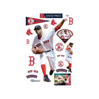 Boston Red Sox David Price Wall Decal by Fathead