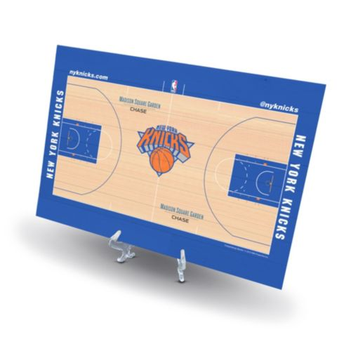 New York Knicks Replica Basketball Court Display