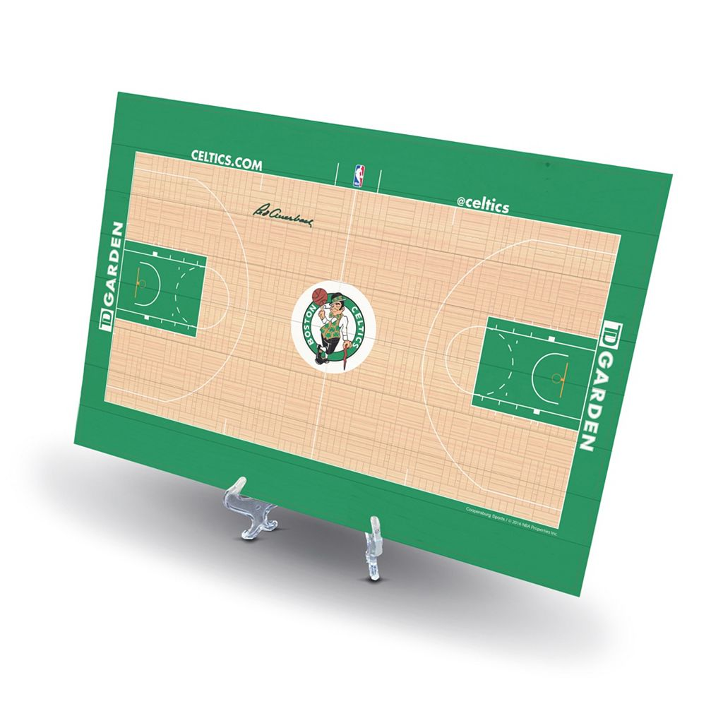 Boston Celtics Replica Basketball Court Display