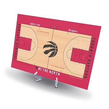 Toronto Raptors Replica Basketball Court Display