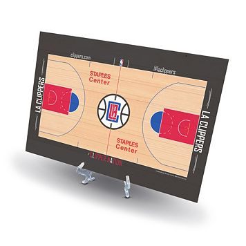 Los Angeles Clippers Replica Basketball Court Display