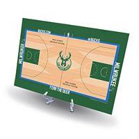 Milwaukee Bucks Replica Basketball Court Display