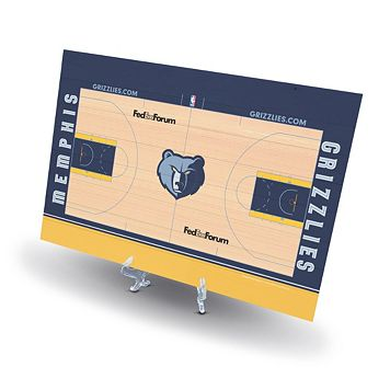 Memphis Grizzlies Replica Basketball Court Display