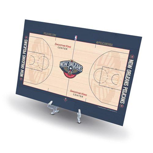 New Orleans Pelicans Replica Basketball Court Display 171 Modern Amp Classics Furniture Lighting