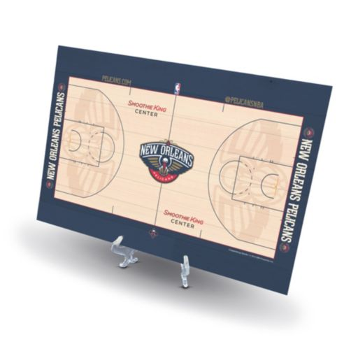 New Orleans Pelicans Replica Basketball Court Display