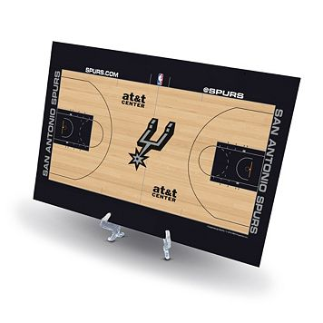 San Antonio Spurs Replica Basketball Court Display