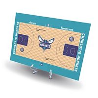 Charlotte Hornets Replica Basketball Court Display