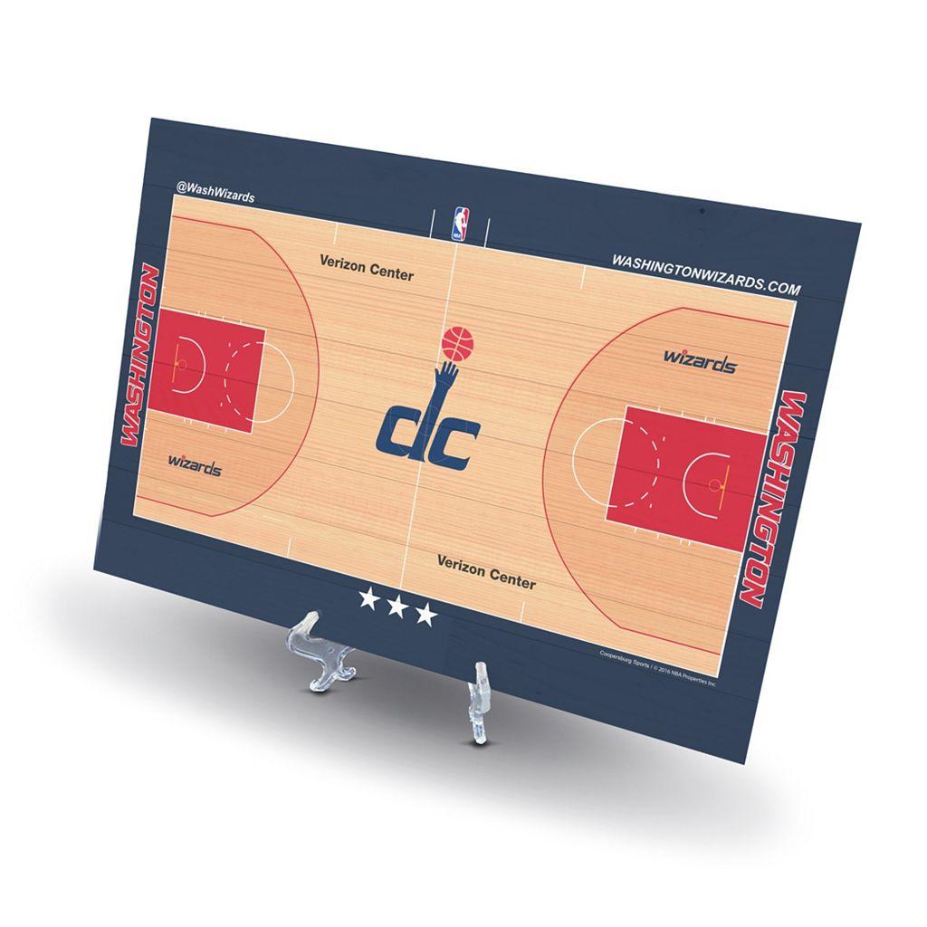 Washington Wizards Replica Basketball Court Display