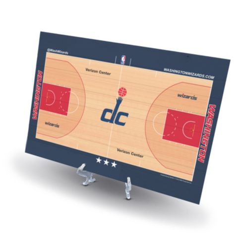 Washington Wizards Replica Basketball Court Display
