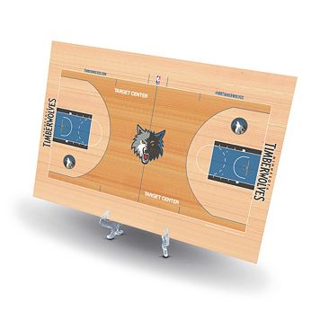 Minnesota Timberwolves Replica Basketball Court Display