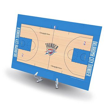 Oklahoma City Thunder Replica Basketball Court Display