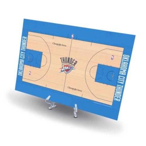 Oklahoma City Thunder Replica Basketball Court Display