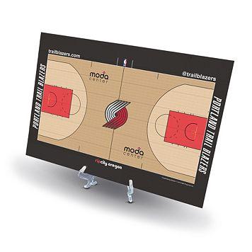 Portland Trail Blazers Replica Basketball Court Display