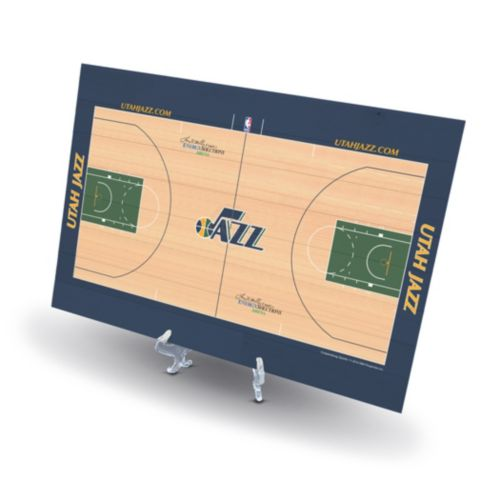Utah Jazz Replica Basketball Court Display