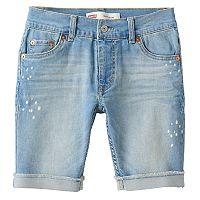 Boys 8-20 Levi's® Slim-Fit Cuffed Shorts