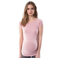 Maternity Pip & Vine by Rosie Pope Ruched Tee