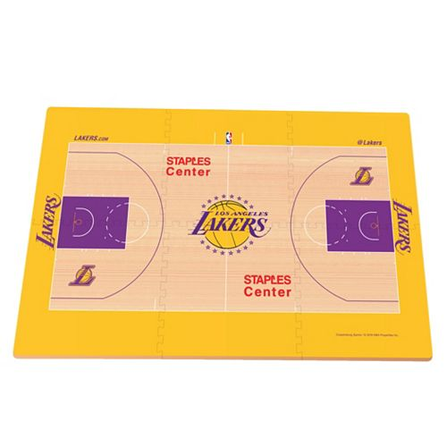 Los Angeles Lakers Replica Basketball Court Foam Puzzle Floor