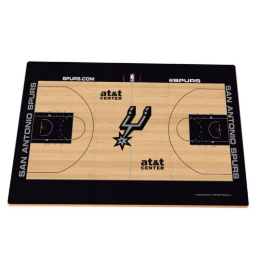 San Antonio Spurs Replica Basketball Court Foam Puzzle Floor