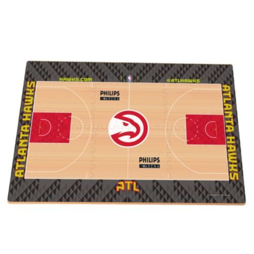 Atlanta Hawks Replica Basketball Court Foam Puzzle Floor