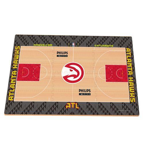 Atlanta Hawks Replica Basketball Court Foam Puzzle Floor