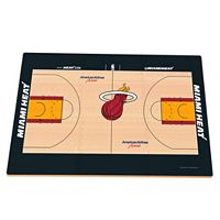 Miami Heat Replica Basketball Court Foam Puzzle Floor