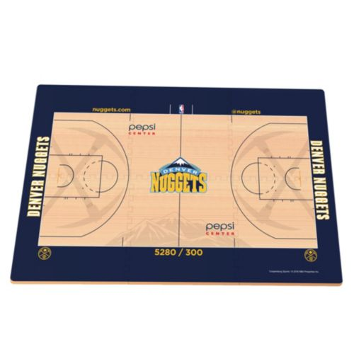 Denver Nuggets Replica Basketball Court Foam Puzzle Floor