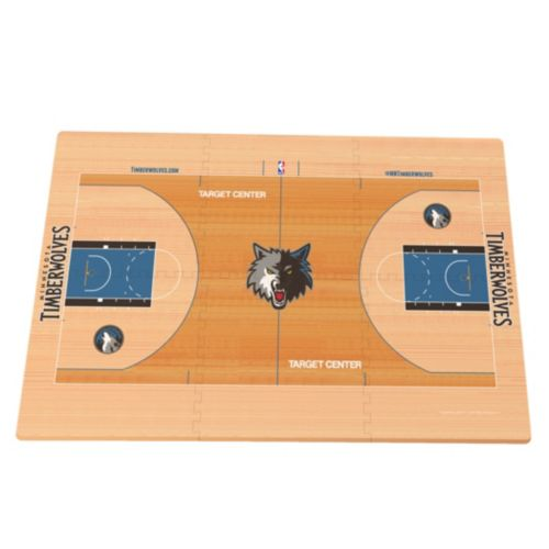Minnesota Timberwolves Replica Basketball Court Foam Puzzle Floor