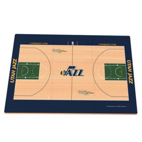 Utah Jazz Replica Basketball Court Foam Puzzle Floor