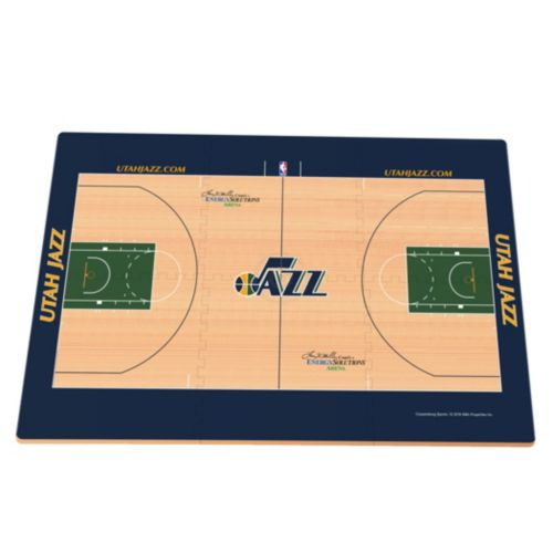 Utah Jazz Replica Basketball Court Foam Puzzle Floor