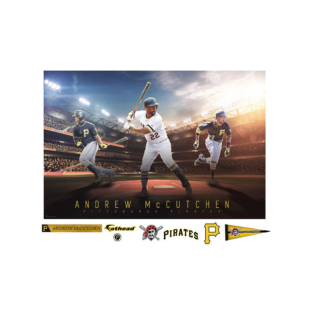 Pittsburgh Pirates Andrew McCutchen Wall Decal by Fathead