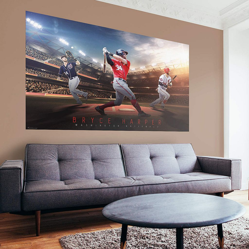 Washington Nationals Bryce Harper Wall Decal by Fathead