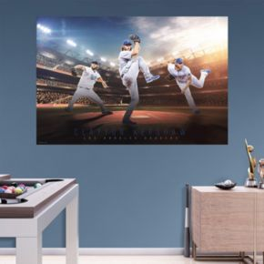 Los Angeles Dodgers Clayton Kershaw Wall Decal by Fathead