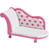Olivia's Little World Princess of Hearts 18 in Doll Sofa Set