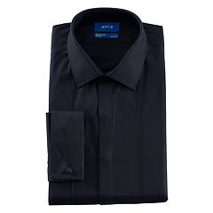 Men's Apt. 9® Slim-Fit Stretch Spread-Collar Tuxedo Dress Shirt