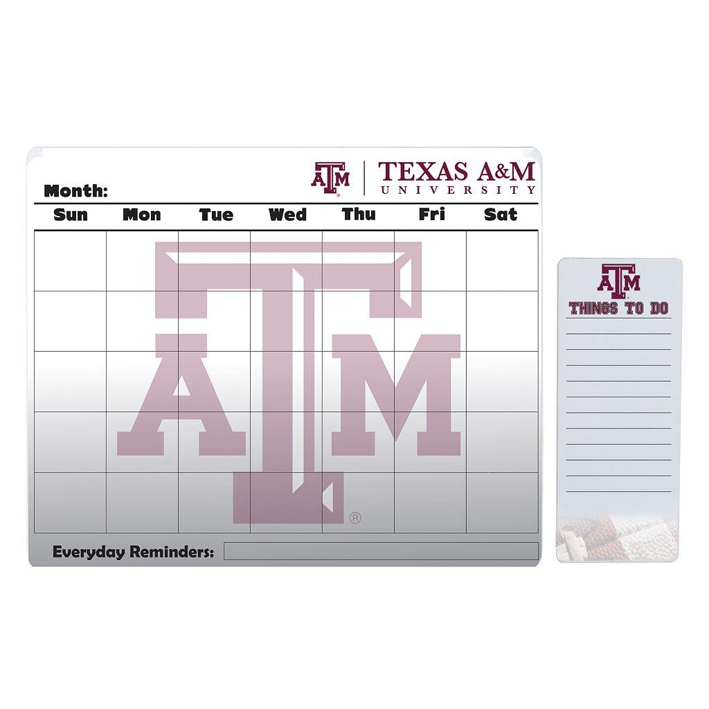 Texas A&M Aggies Dry Erase Calendar & To-Do List Pad Set